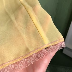 Victoria's Secret Intimates & Sleepwear - Victoria's Secret Yellow Babydoll Lingerie  XS